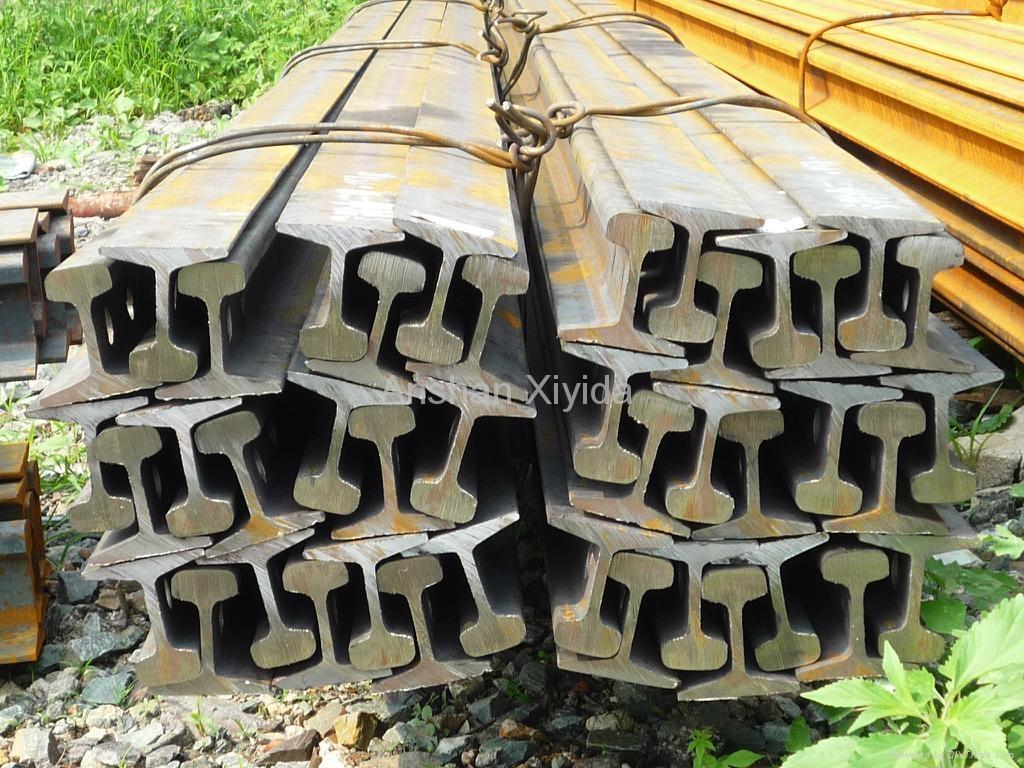 Q235/55Q 8-30KG/M light steel rail  1