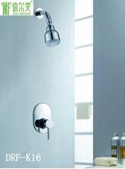 节水增压暗装淋浴花洒套装 K16