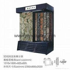 stone tile display