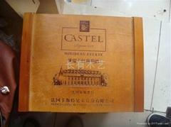 六支紅酒木盒加工鄭州紅酒木盒批發