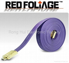 High speed 3D HDMI cable with Ethernet