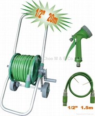 hose reel cart set
