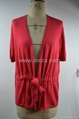 12STC0521 ladies front fastening cardigan sweater