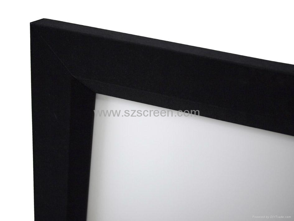 Fixed frame projector screen for home cinema - FXF - MGF (China ...
