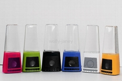 2013 Newest colorful LED water fountain speaker for Xmas