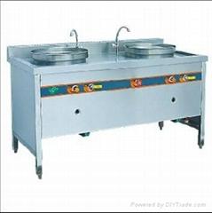 双盆汤面炉