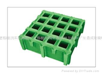微孔玻璃钢格栅 1