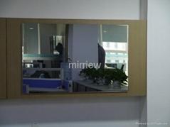 32'' Mirror Tv; Bathroom Mirror Tv; Waterproof Mirror Tv for Hotel Luxury Magic