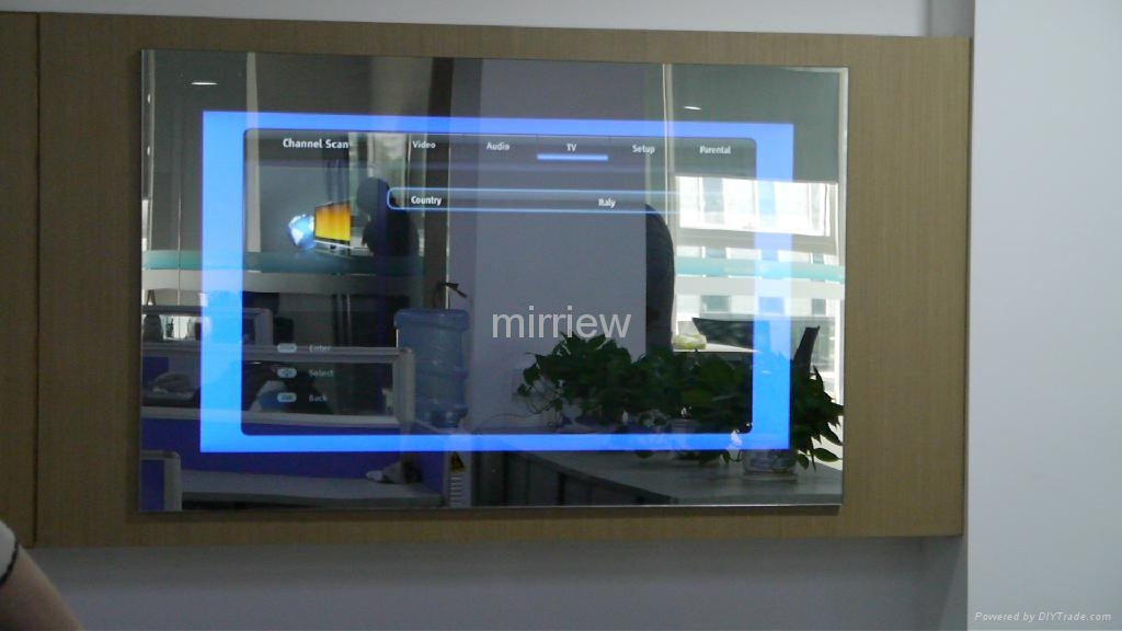 ... 32u0027u0027 Mirror Tv; Bathroom Mirror Tv; Waterproof Mirror Tv For Hotel  Luxury ...