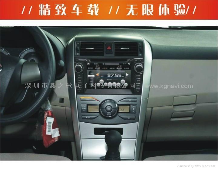 豐田卡羅拉汽車導航儀 5