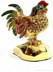 metal rooster craft