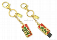 christmas gift usb flash memory