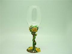 pewter goblet glass