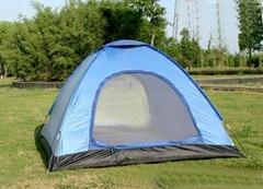 spot wholesale Triple Double doors Tourism tent UV protection
