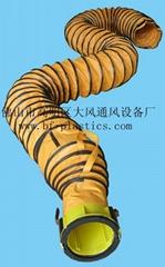 带拉链接口冷暖保温风管