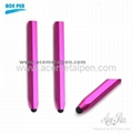Aluminium hexagon capacitive stylus pen