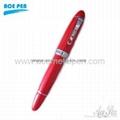 Top-grade red fountain pen,rollerball