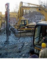 挖機改裝液壓鑿岩鑽機