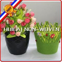 Polyester non woven flower pot