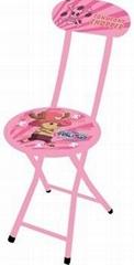 Lovely Children Chair Metal Chair