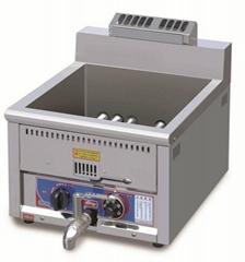 Desktop frying machine