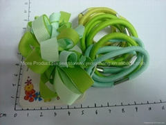 Hot New Fashion Elastic Hair Band Accessories Set with French Clip/Rubber