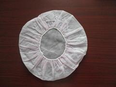 disposable non-woven bouffant cap