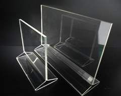 Acrylic Counter Sign Poster Holder Frame