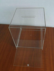Acrylic Collection Ballot Boxes