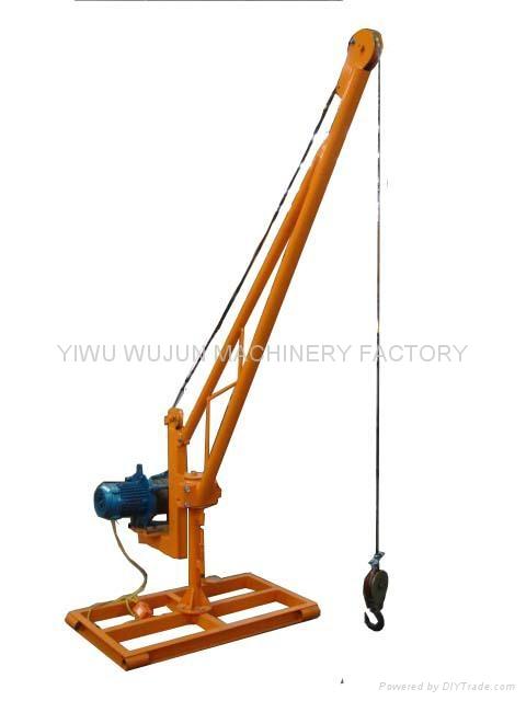 Mini Crane Dj 3 Wujun China Construction Machine