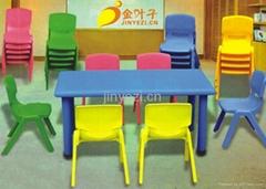重慶幼儿園儿童塑料課桌椅