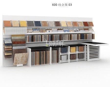 Ceramic Tile Display Stand Composition3 Leader Display