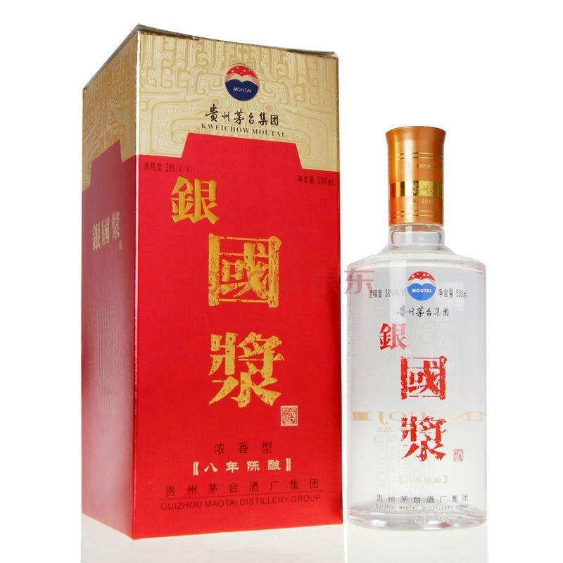 银国浆酒38度500mlX6 1