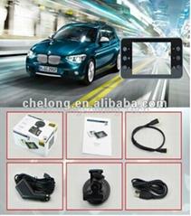 X3 Car Black Box Full HD Car cam with GPS G-sensor Car DVR Black Box