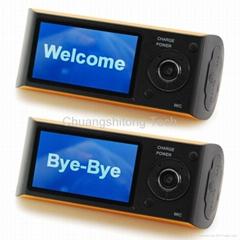 Dual Lens Car Black Box with GPS Logger Car Accident Recorder HD Car DVR