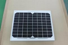 銷售10瓦單晶太陽能板