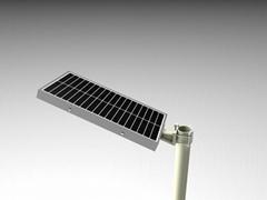 集成式太陽能一體路燈