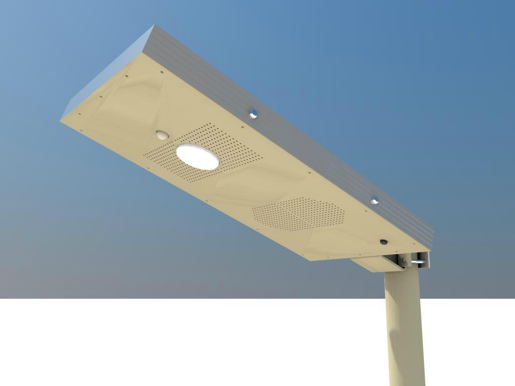 太陽能簡易式庭院燈 2