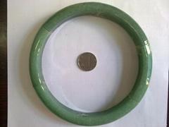 绿东陵玉印度洋 砂金石手镯大手镯天然石头