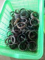 Indian agate bracelet 62mm inner diameter