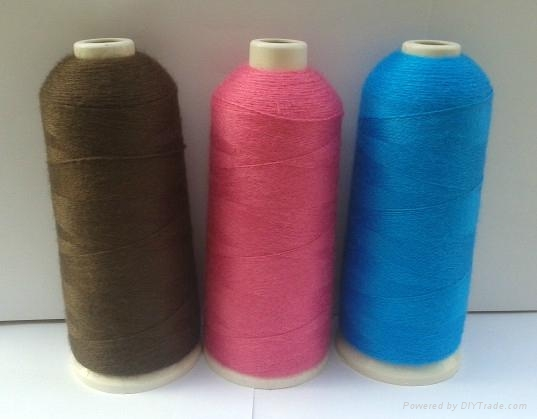 42S/2 wool embroidery thread used for flat embroidery 1