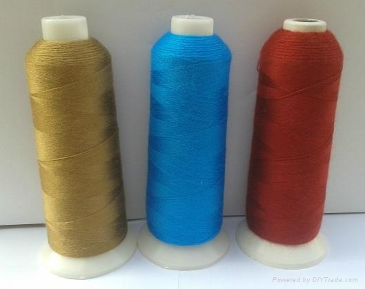 42S/2 wool embroidery thread used for flat embroidery 2
