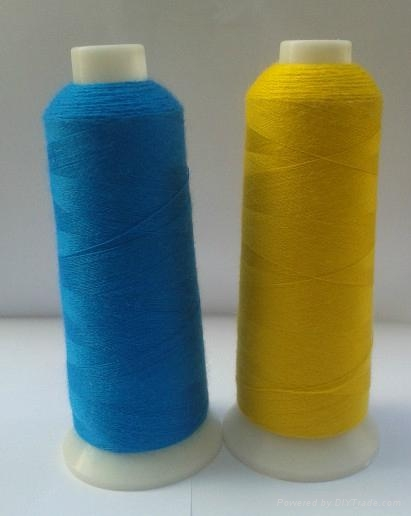 24S/2 100% acrylic embroidery thread for towel embroidery 1