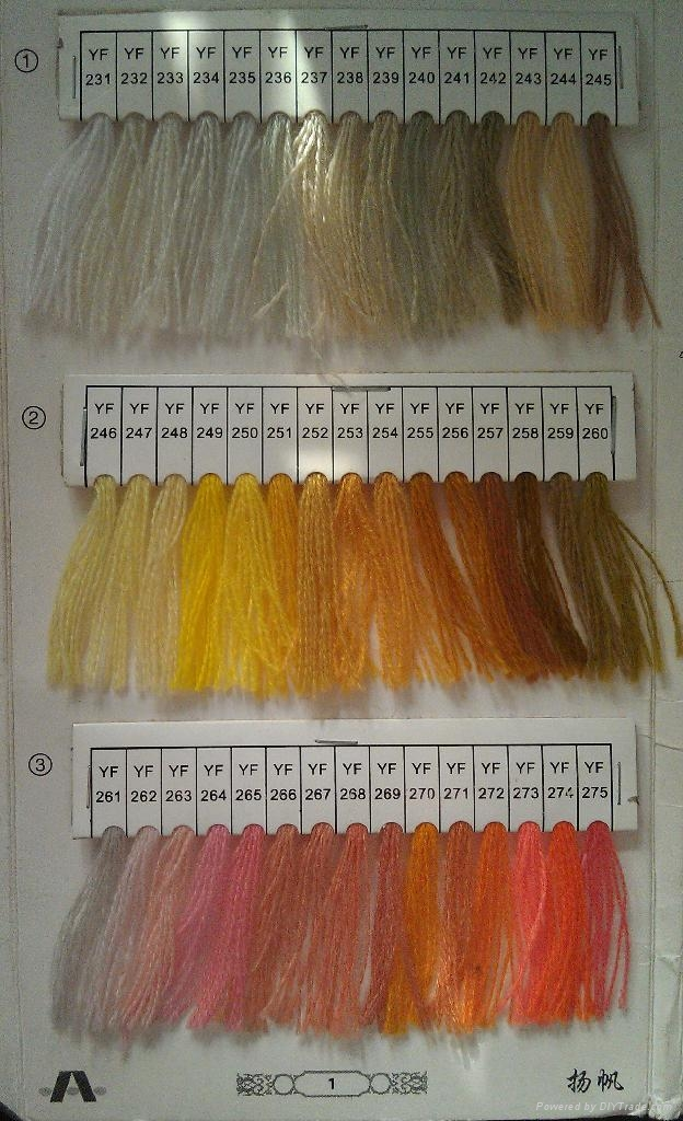 24S/2 100% acrylic embroidery thread for towel embroidery 2
