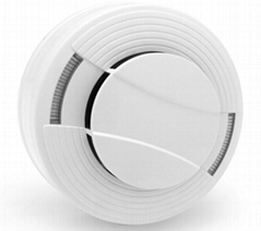 Photoelectric Smoke Detector with Dual LED