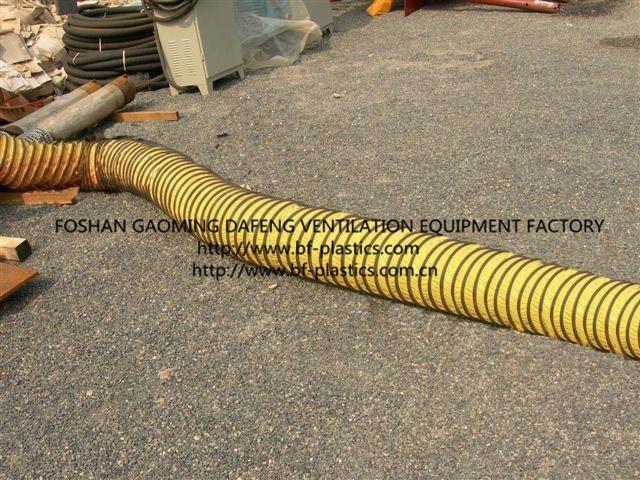 Flexible Ventilation Duct : Flexible ventilation duct in ship building bf