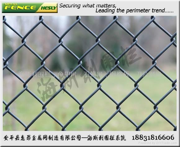 体育场围栏,体育围网,勾花护栏,球场护栏 3