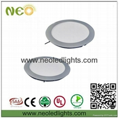 24W White/Warm white led round panels, led panel lights, led lights panel