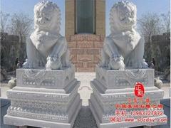 漢白玉石雕獅子