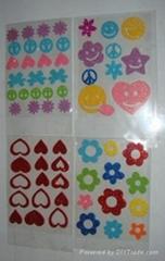 Glitter Foam Sticker
